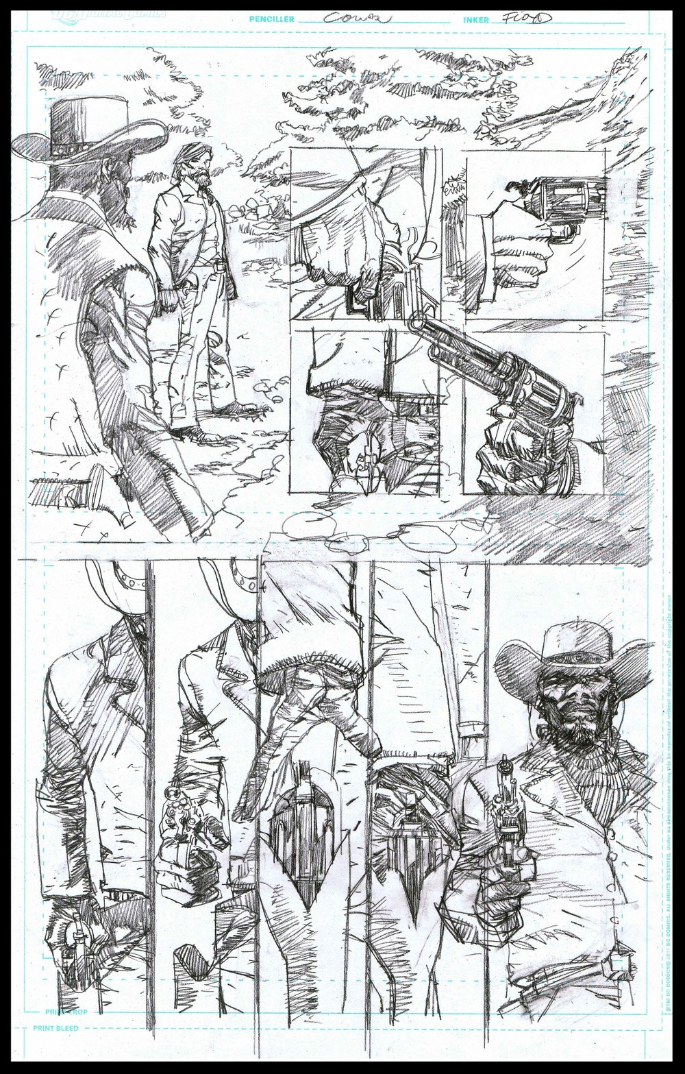 Django Unchained #3 - Page 7 - Pencils