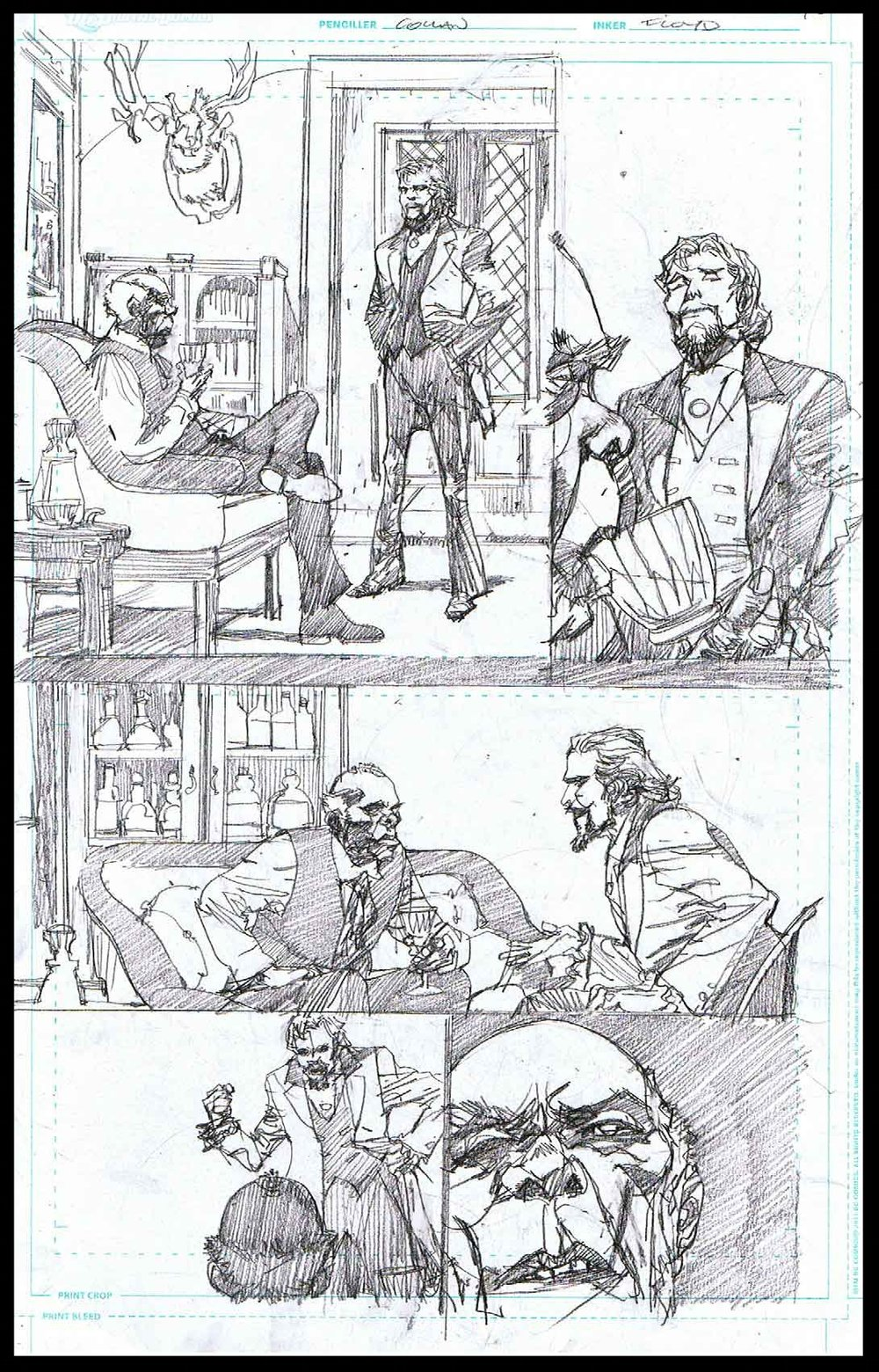 Django Unchained #6 - Page 3 - Pencils