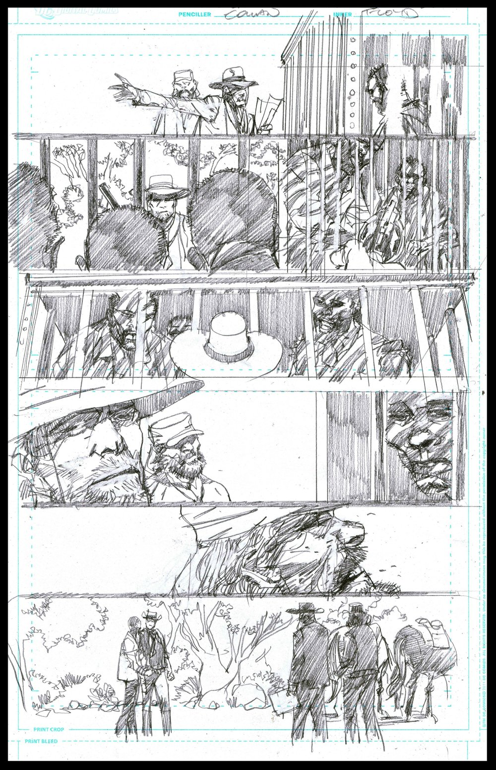 Django Unchained #6 - Page 38 - Pencils