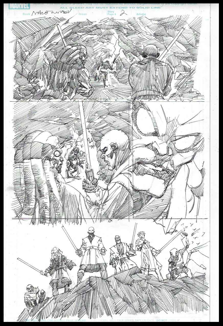 Mace Windu #2 - Page 2 - Pencils