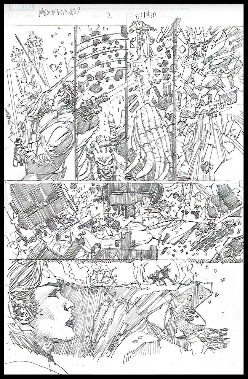 Mace Windu #2 - Page 11 - Pencils