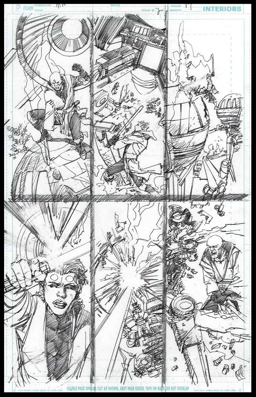 Mace Windu #2 - Page 17 - Pencils