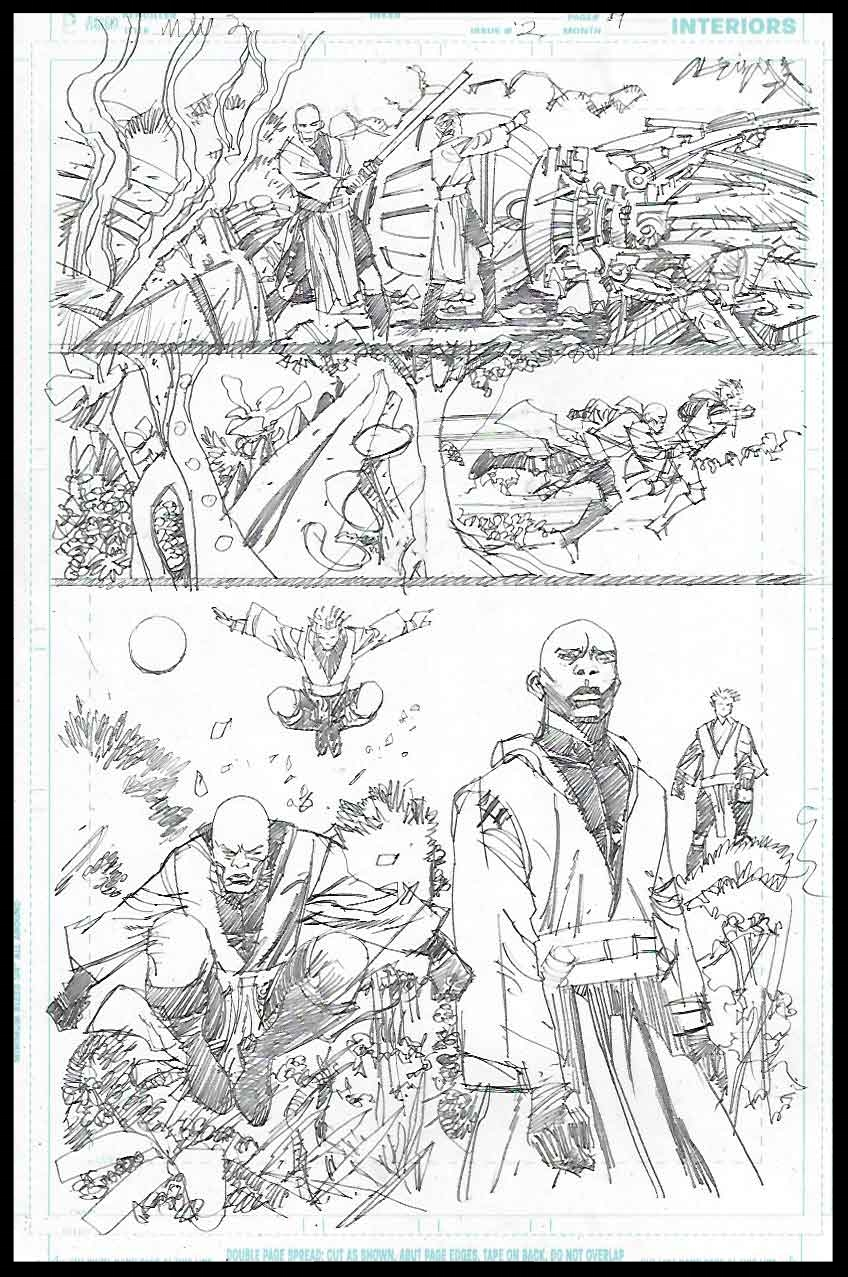 Mace Windu #2 - Page 19 - Pencils