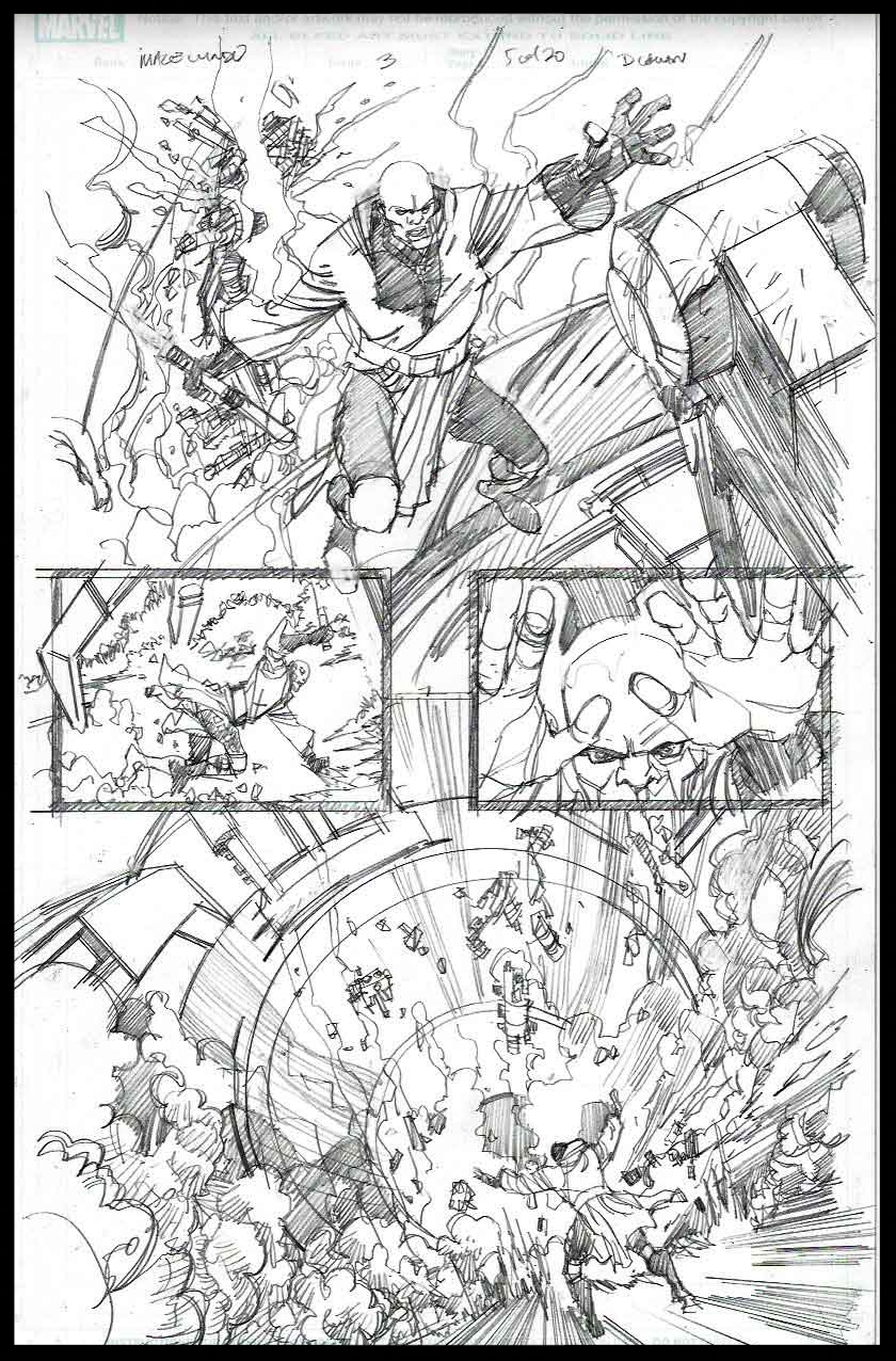 Mace Windu #3 - Page 5 - Pencils