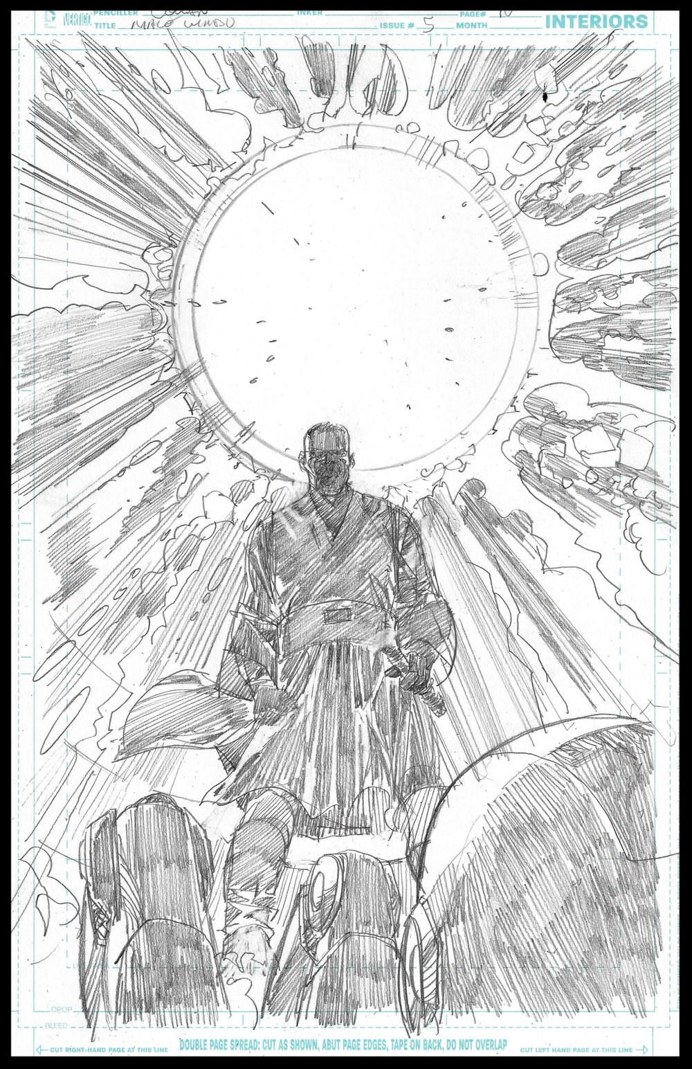Mace Windu #5 - Page 10 - Pencils
