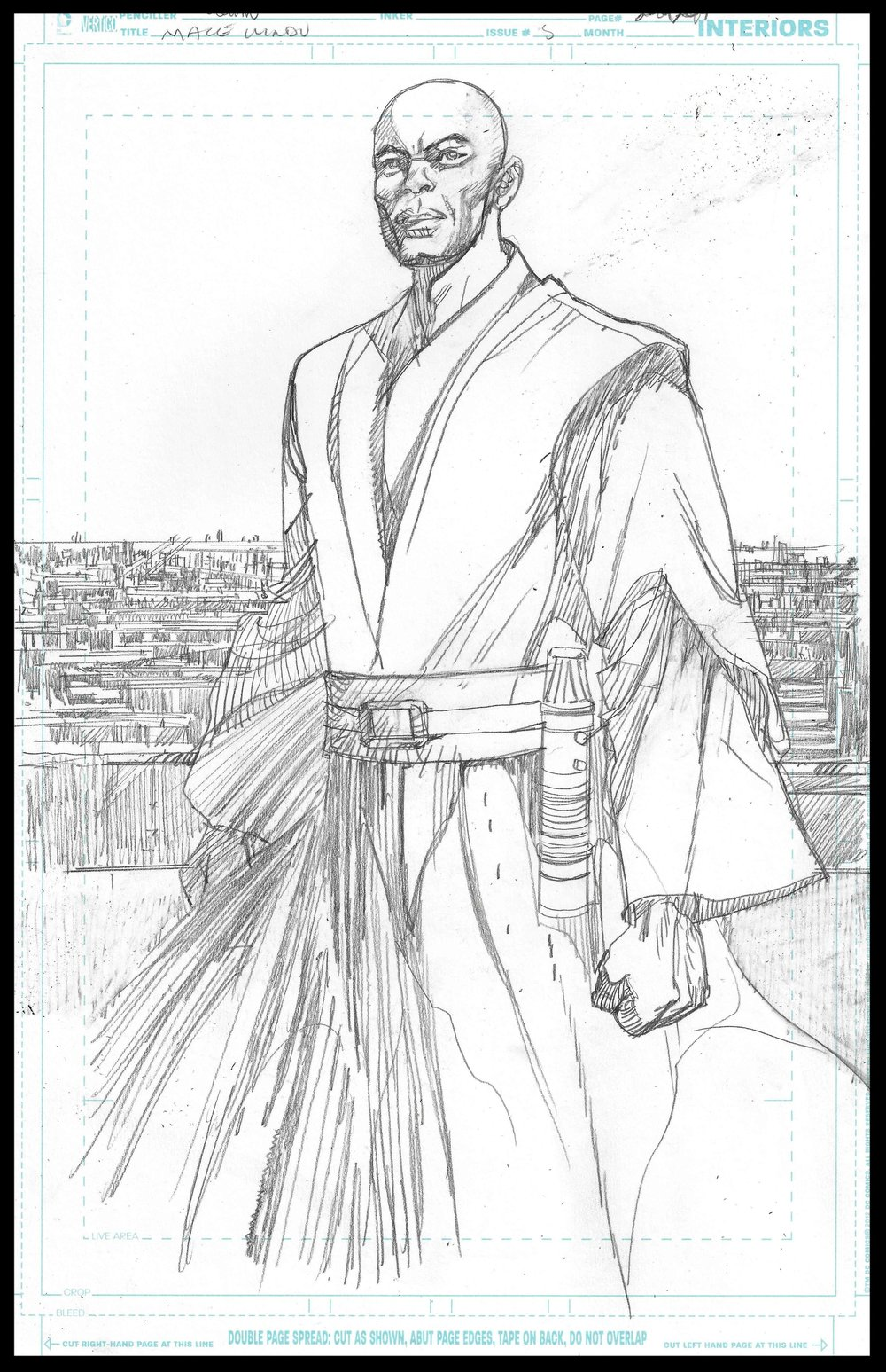 Mace Windu #5 - Page 20 - Pencils