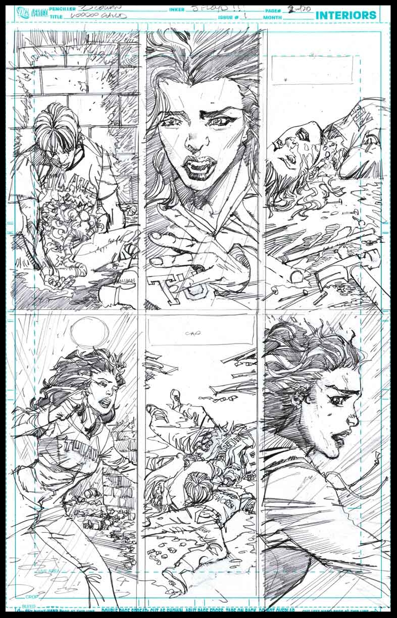 Voodoo Child #1 - Page 2 - Pencils