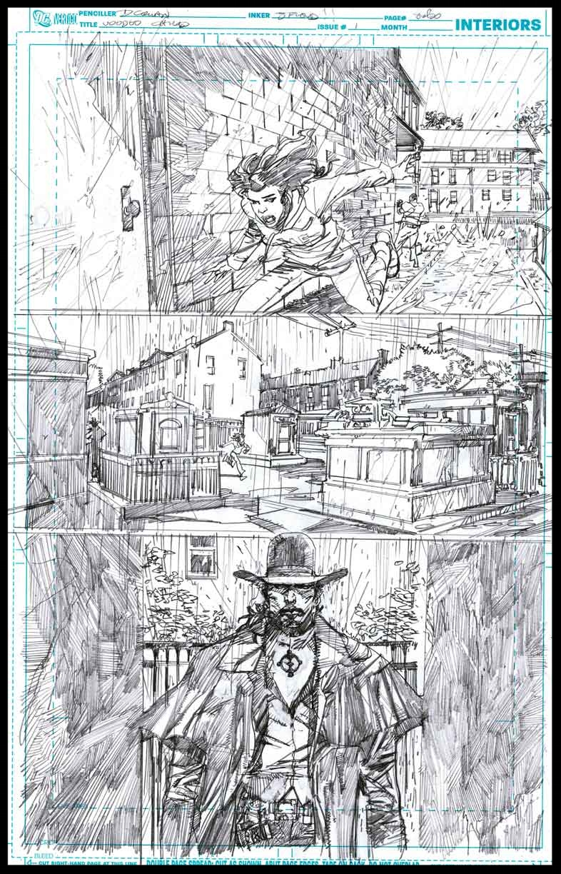 Voodoo Child #1 - Page 8 - Pencils
