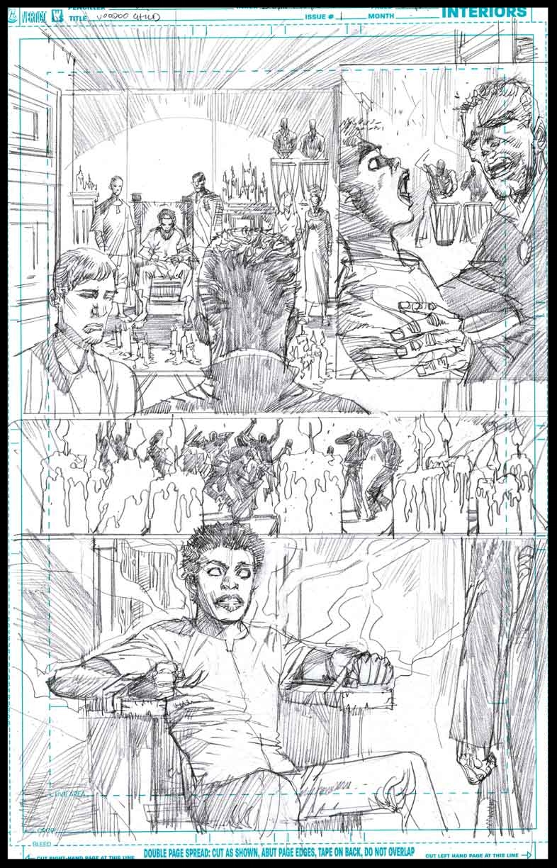 Voodoo Child #1 - Page 10 - Pencils
