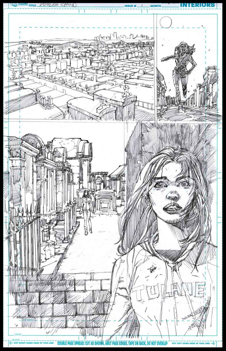 Voodoo Child #1 - Page 12 - Pencils