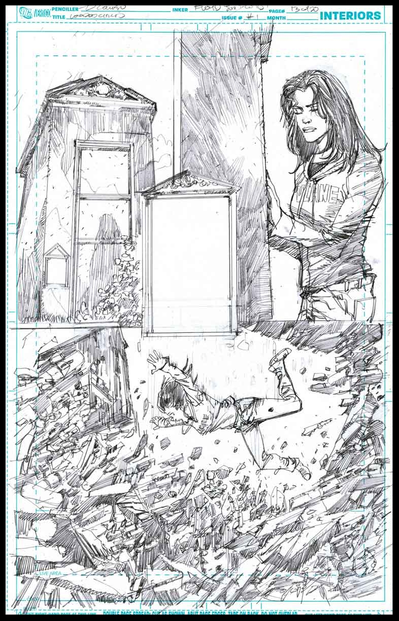 Voodoo Child #1 - Page 13 - Pencils
