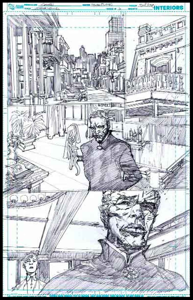 Voodoo Child #1 - Page 9 - Pencils