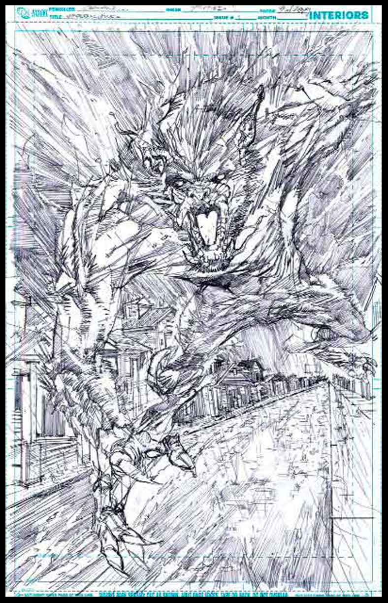 Voodoo Child #1 - Page 3 - Pencils