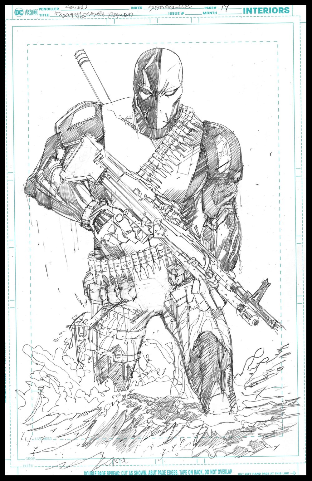 Deathstroke Annual - Page 14 - Pencils