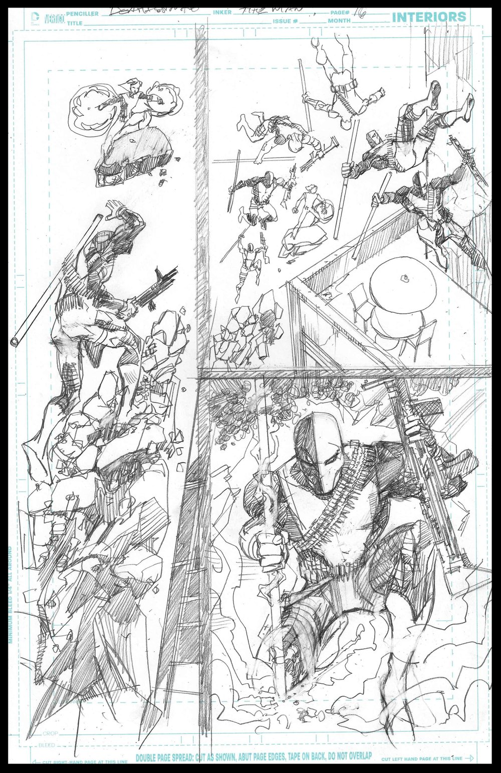 Deathstoke Annual - Page 16 - Pencils