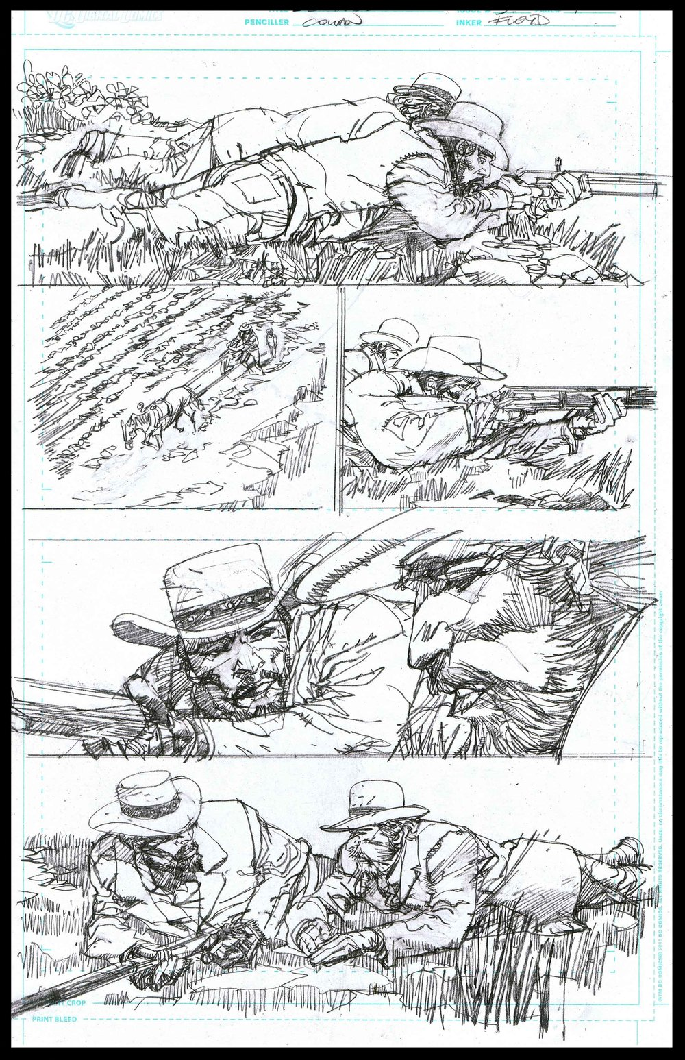 Django Unchained #3 - Page 4 - Pencils