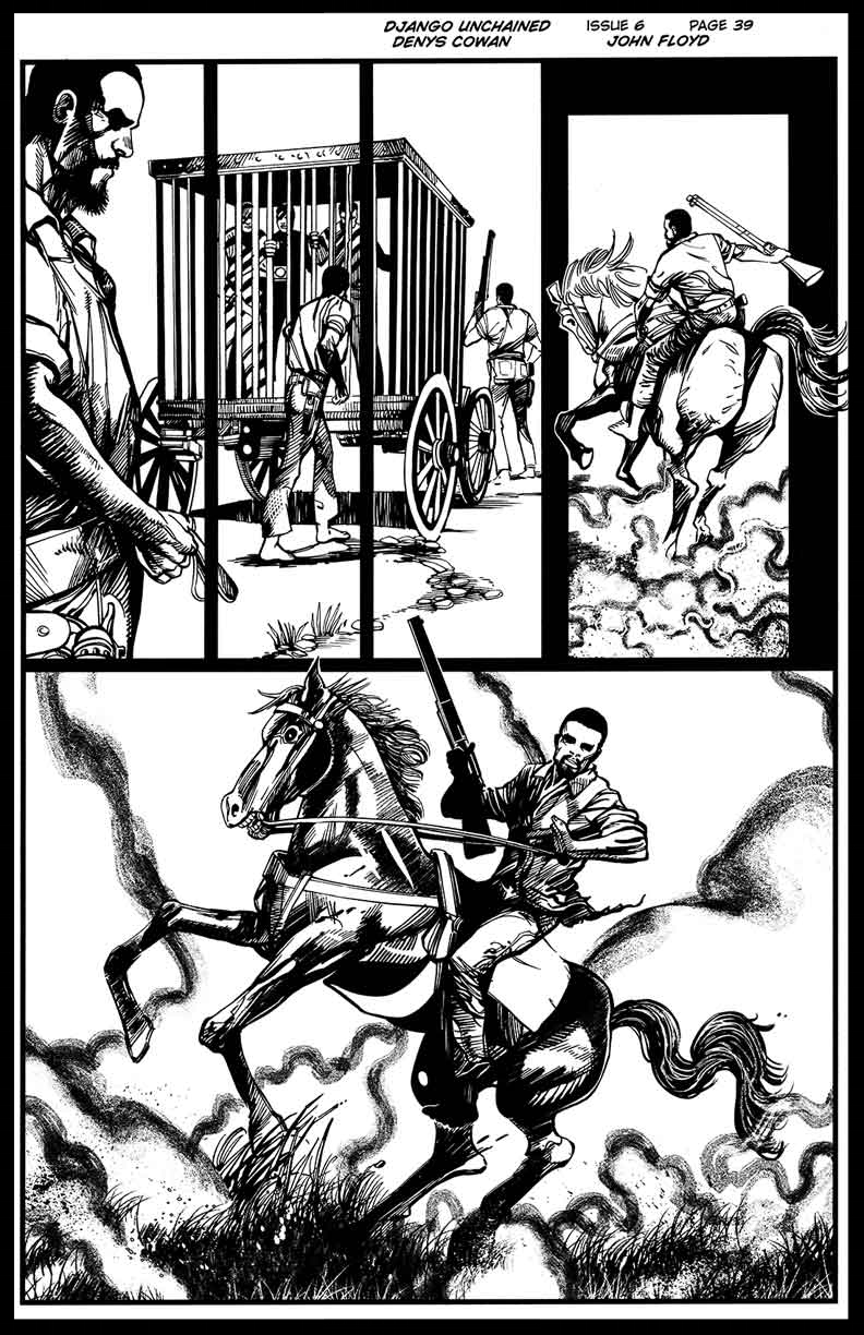 Django Unchained #6 - Page 39 - Pencils & Inks