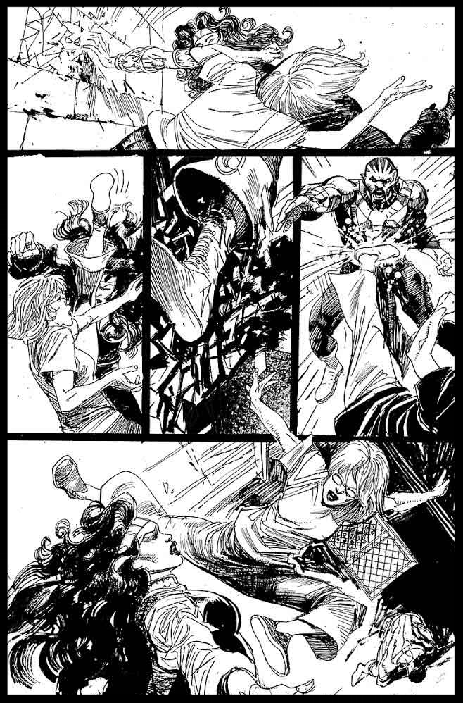 Black Lightning-Hong Kong Phooey #1 - Page 7 - Pencils & Inks