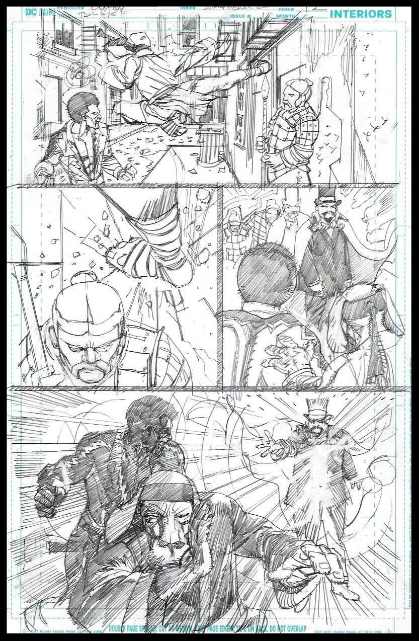 Black Lightning-Hong Kong Phooey #1 - Page 12 - Pencils