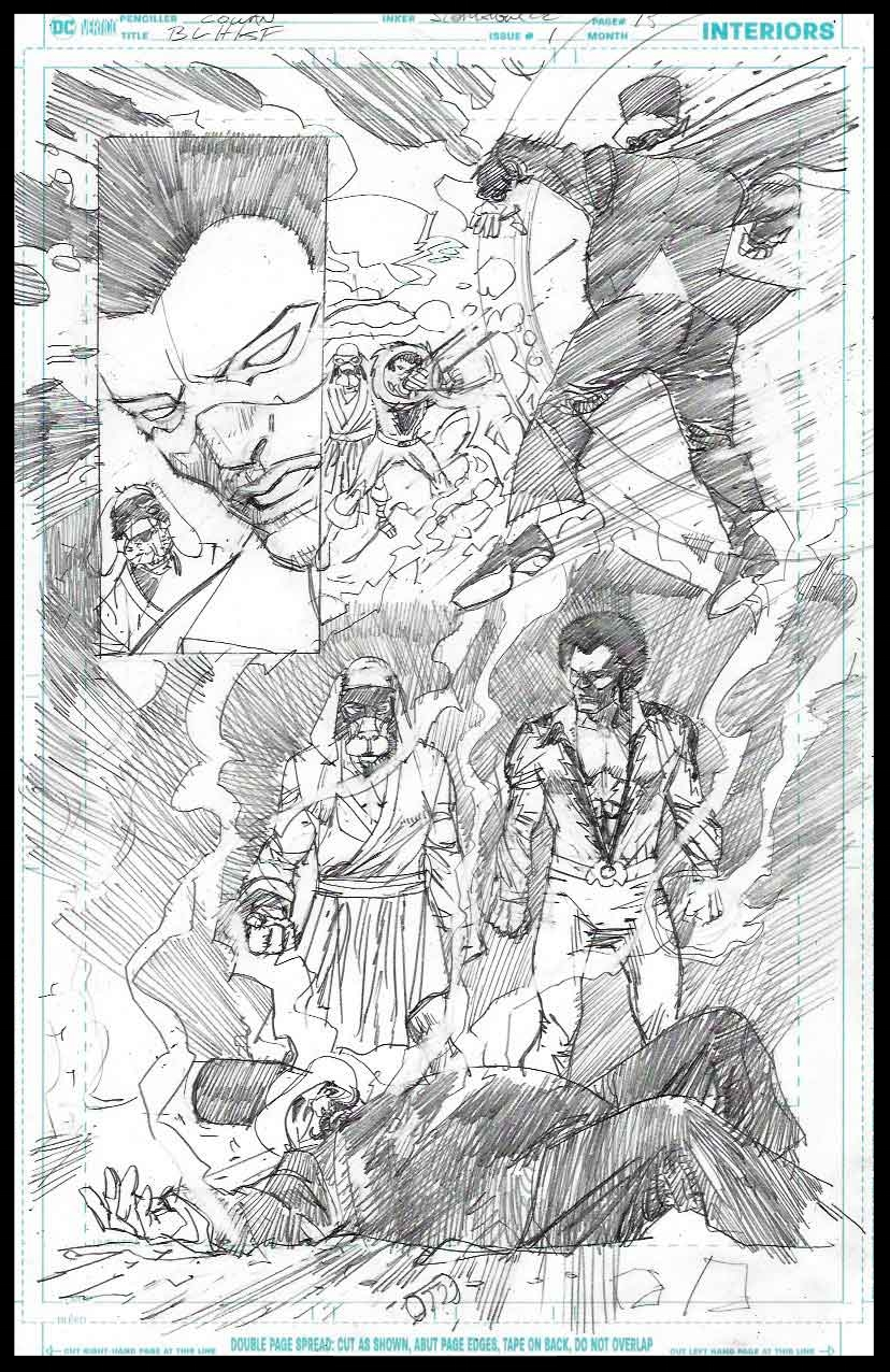 Black Lightning-Hong Kong Phooey #1 - Page 15 - Pencils