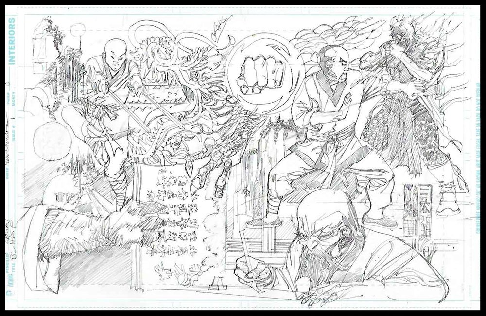 Black Lightning-Hong Kong Phooey #1 - Page 5 - Pencils