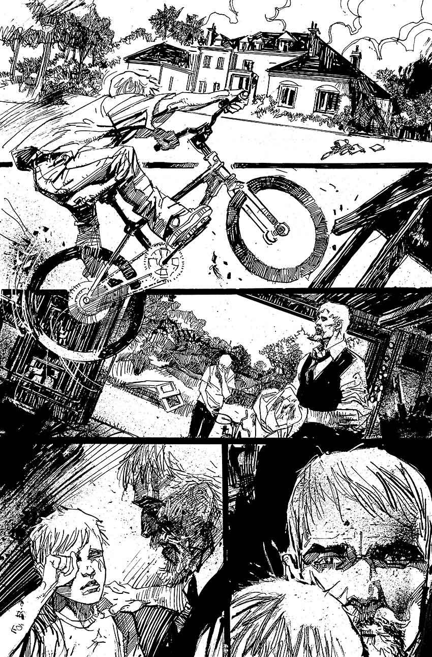 Green Arrow: Secret Origins - Page 2 - Pencils & Inks