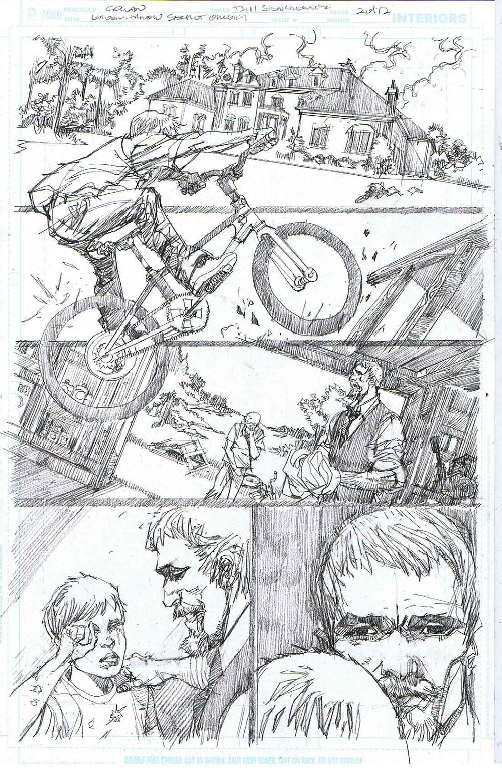 Green Arrow: Secret Origins - Page 2 - Pencils