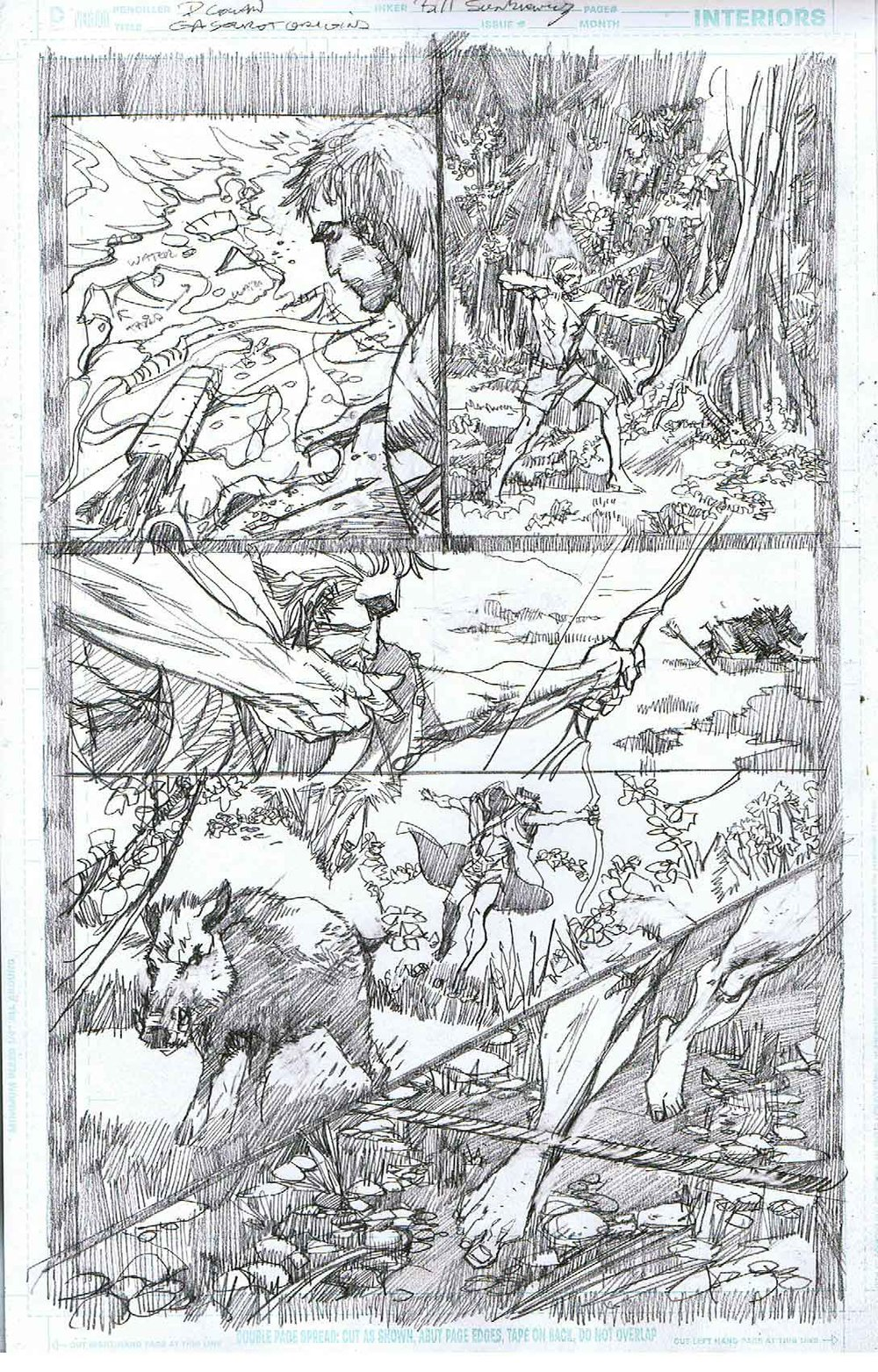 Green Arrow: Secret Origins - Page 6 - Pencils