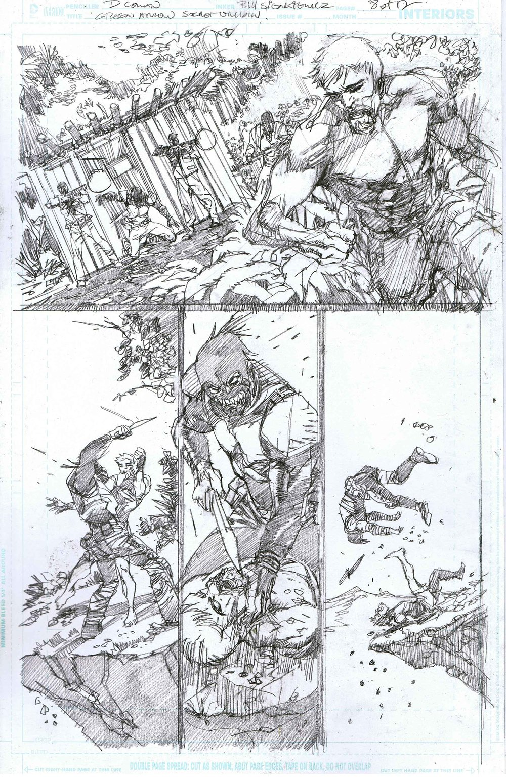 Green Arrow: Secret Origins - Page 8 - Pencils