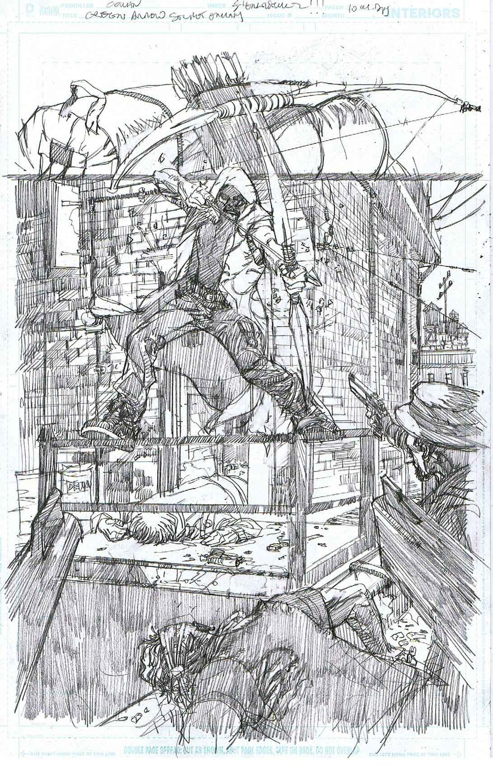 Green Arrow: Secret Origins - Page 10 - Pencils