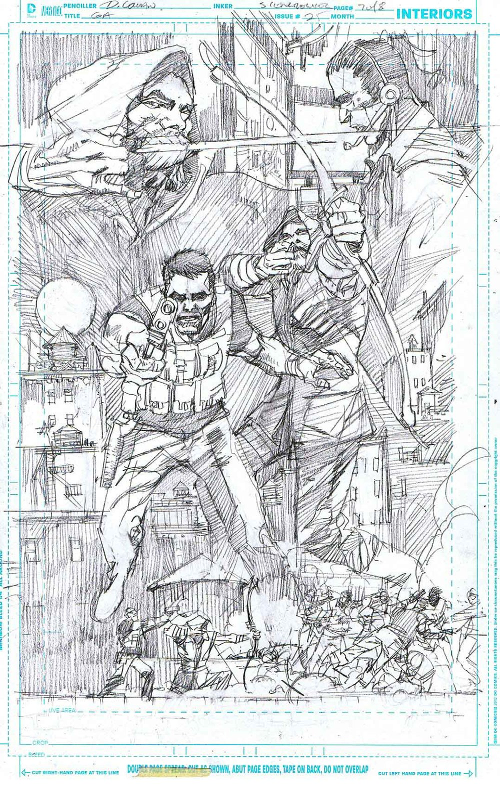 Green Arrow #25 - Page 7 - Pencils