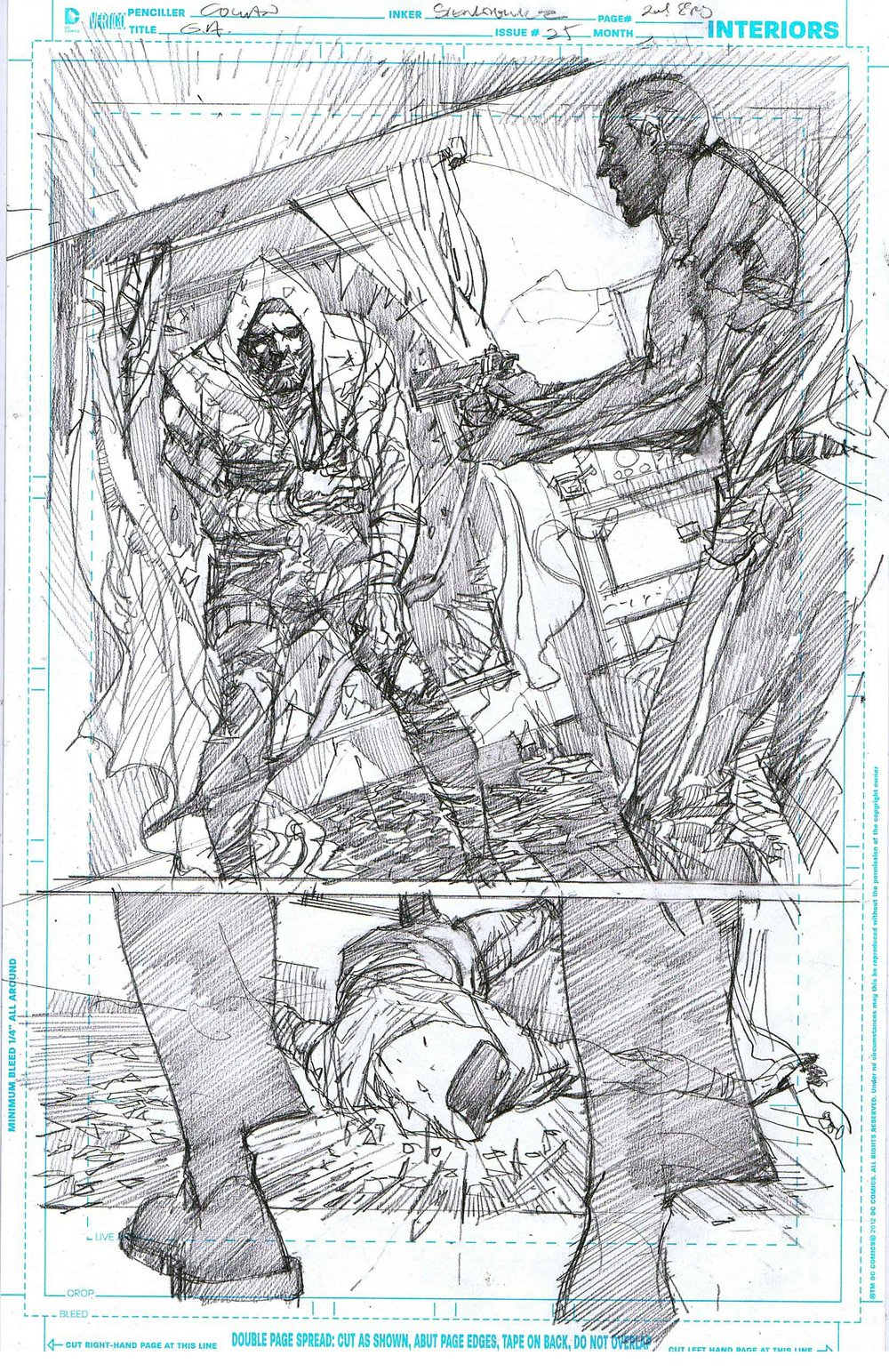 Green Arrow #25 - Page 2 - Pencils