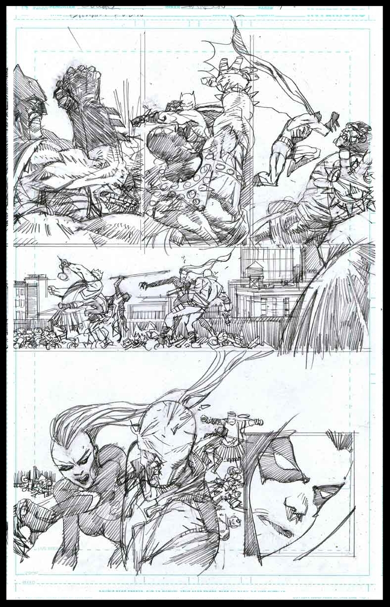 Batman & Robin #2 - Page 7 - Pencils