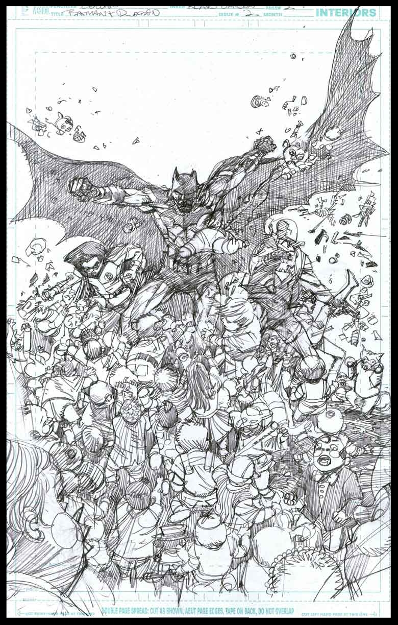 Batman & Robin #2 - Page 2 - Pencils