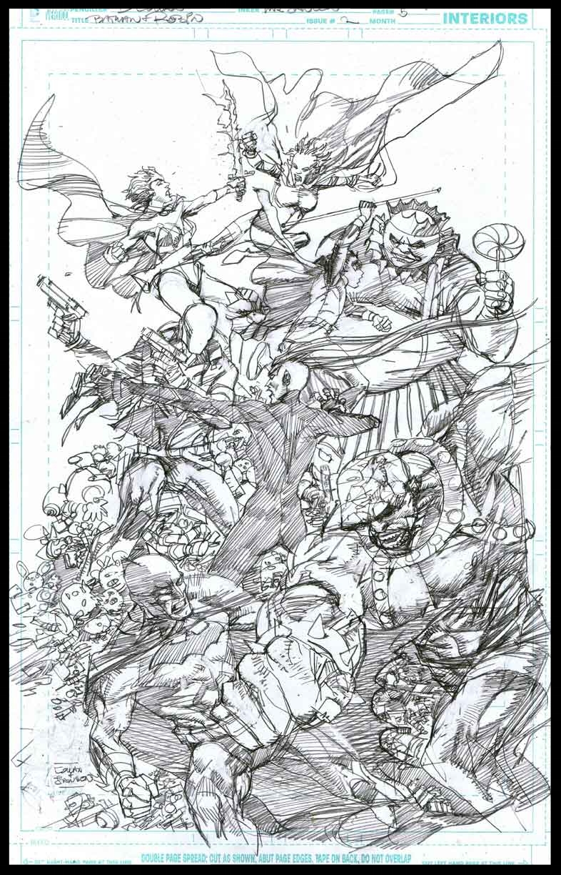 Batman & Robin #2 - Page 5 - Pencils