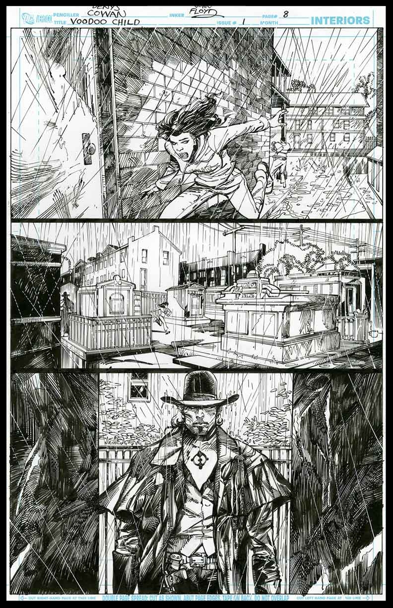 Voodoo Child #1 - Page 8 - Pencils & Inks