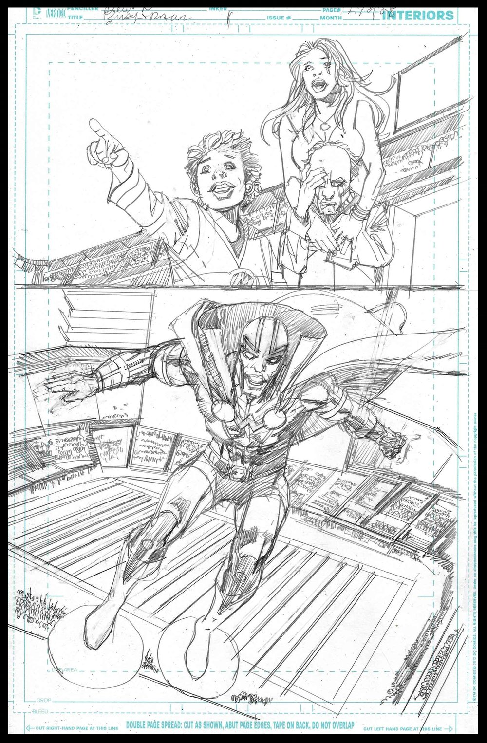 Black Racer #1 - Page 27 - Pencils