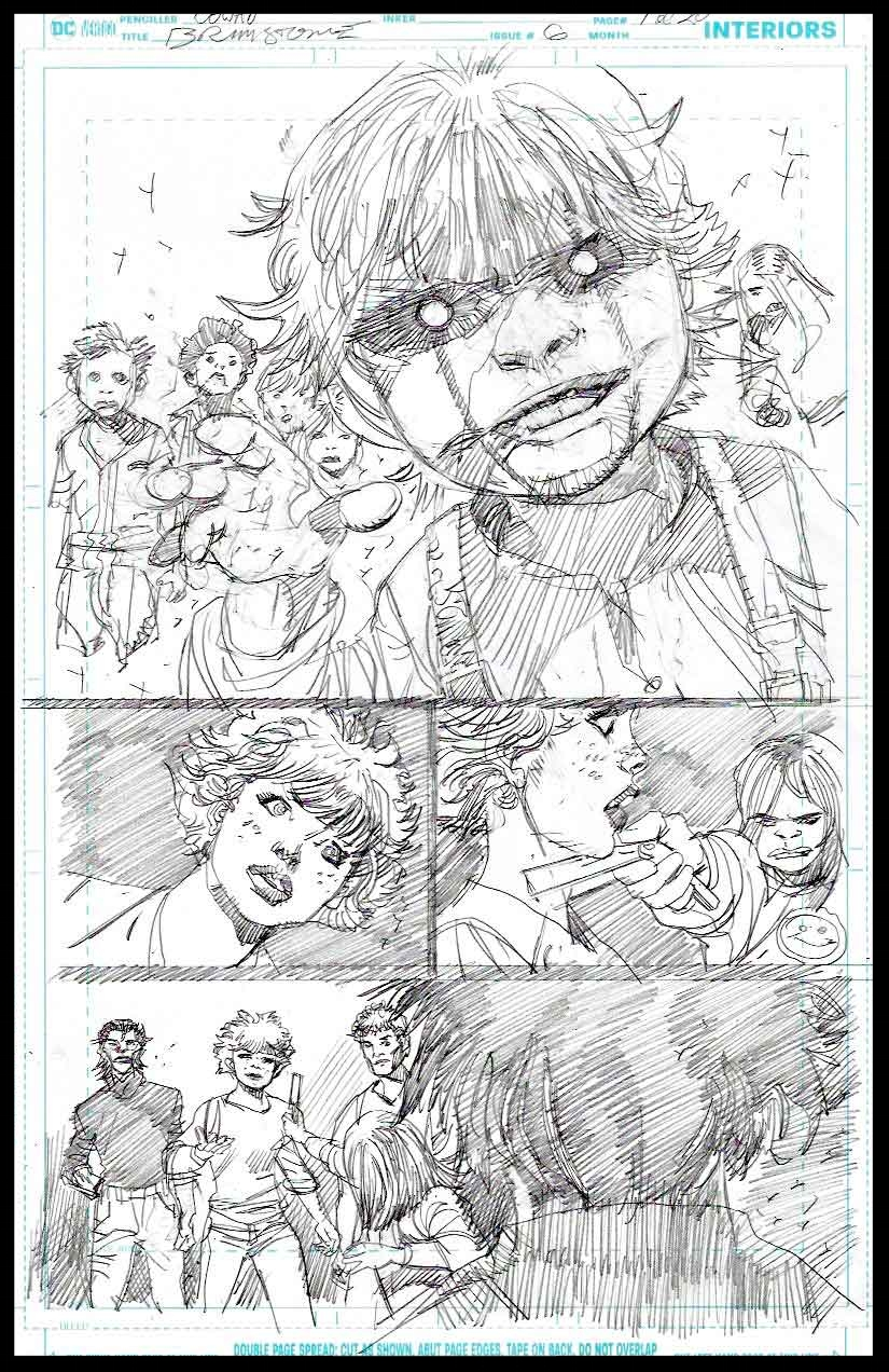 Brimstone #6 - Page 1 - Pencils