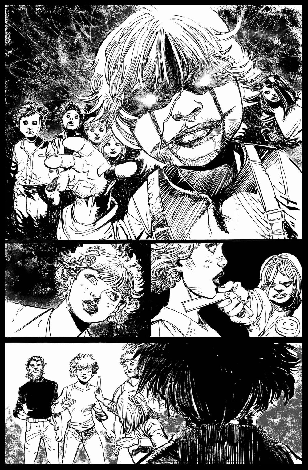 Brimstone #6 - Page 1 - Pencils & Inks