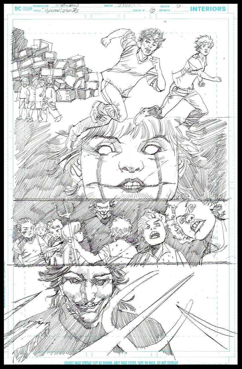 Brimstone #6 - Page 6 - Pencils
