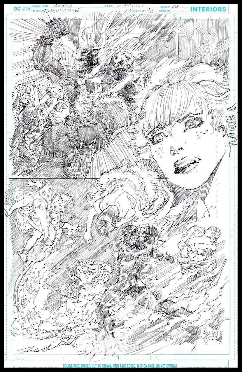 Brimstone #6 - Page 10 - Pencils