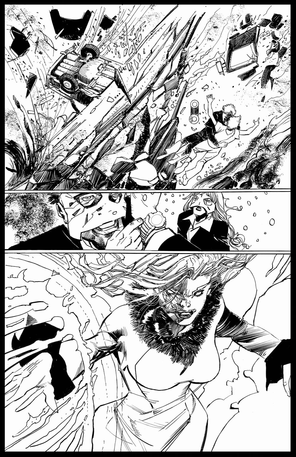 Brimstone #11 - Page 4 - Pencils & Inks