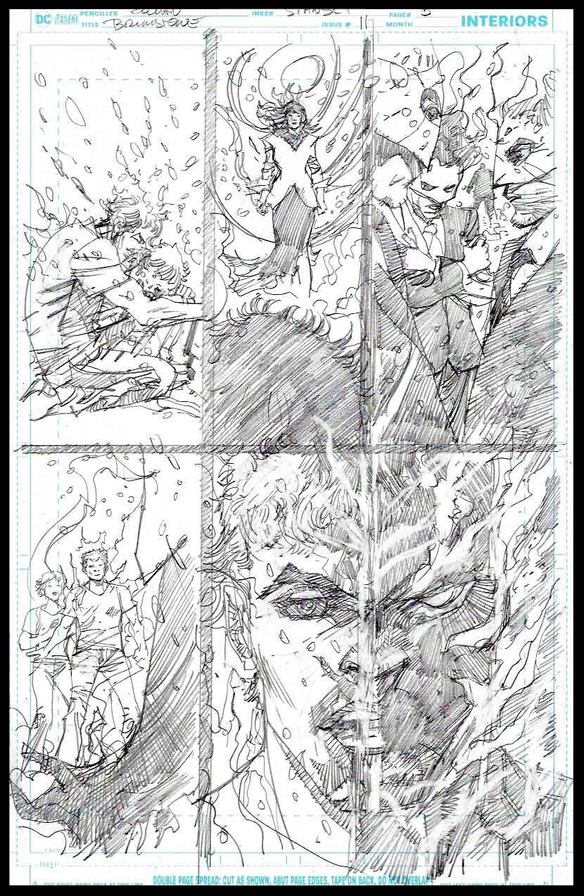 Brimstone #11 - Page 5 - Pencils