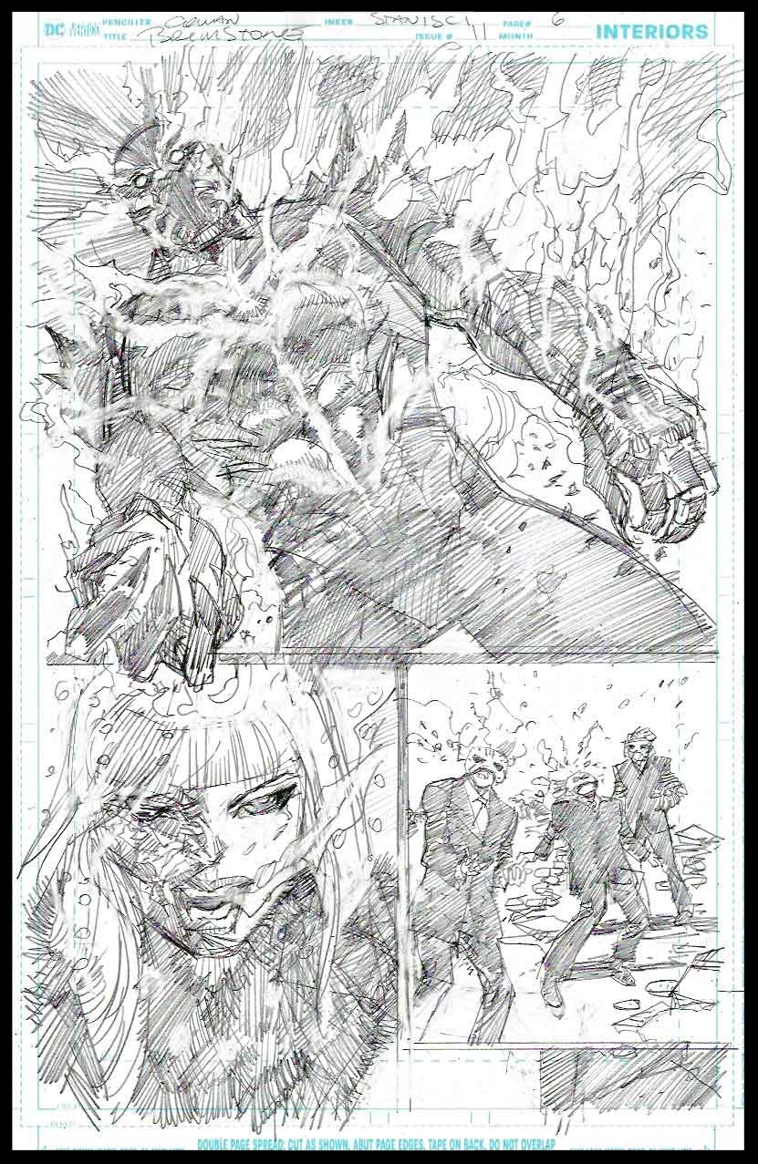 Brimstone #11 - Page 6 - Pencils