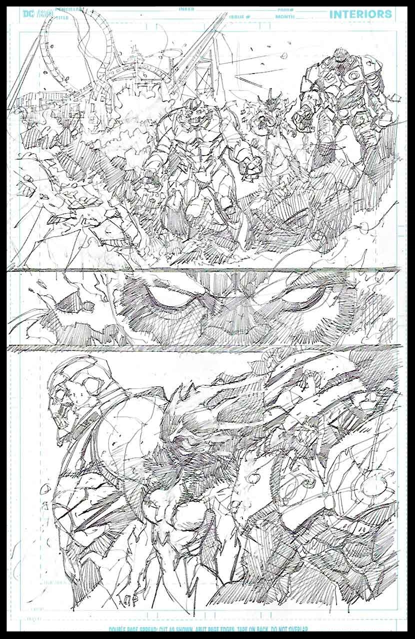 Brimstone #11 - Page 8 - Pencils