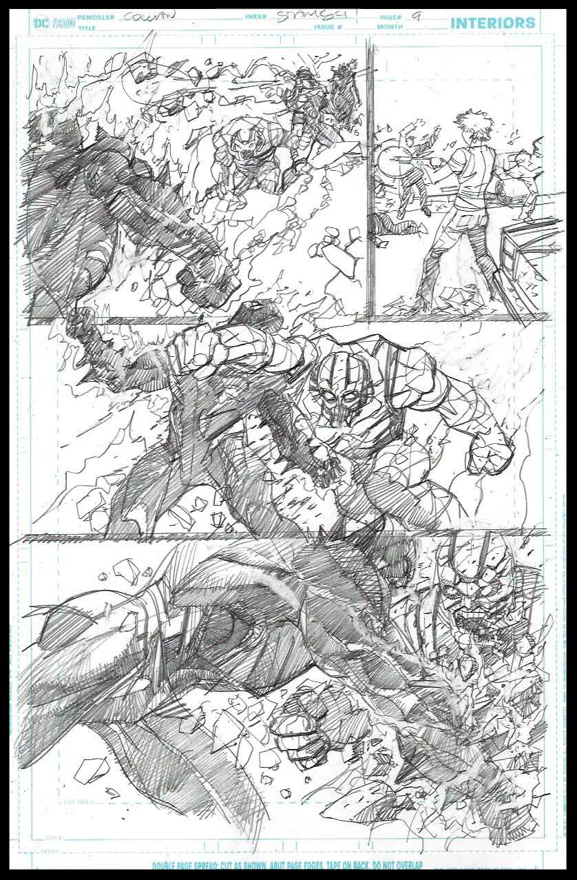 Brimstone #11 - Page 9 - Pencils