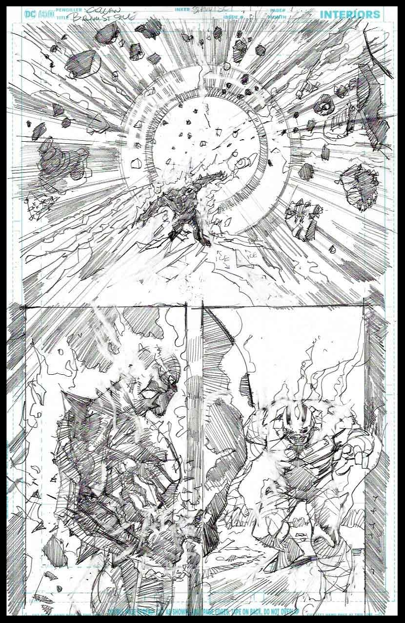 Brimstone #11 - Page 12 - Pencils