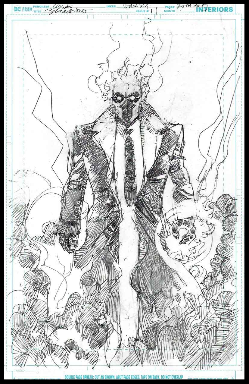 Brimstone #11 - Page 20 - Pencils