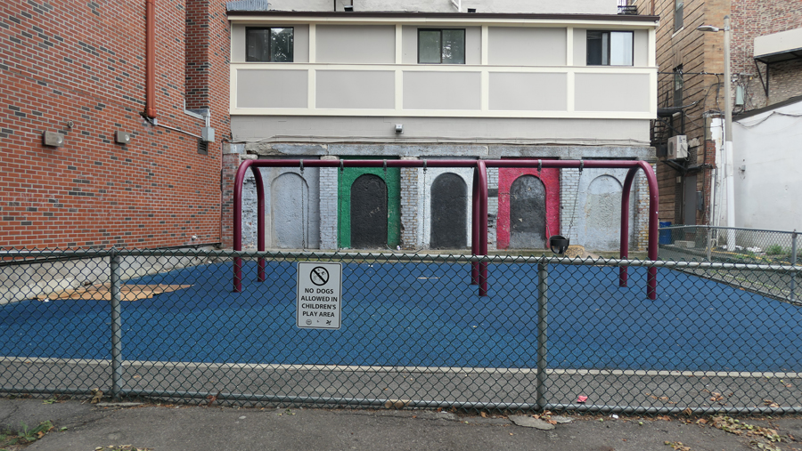 images shows the communities need to call for change at this neglected park