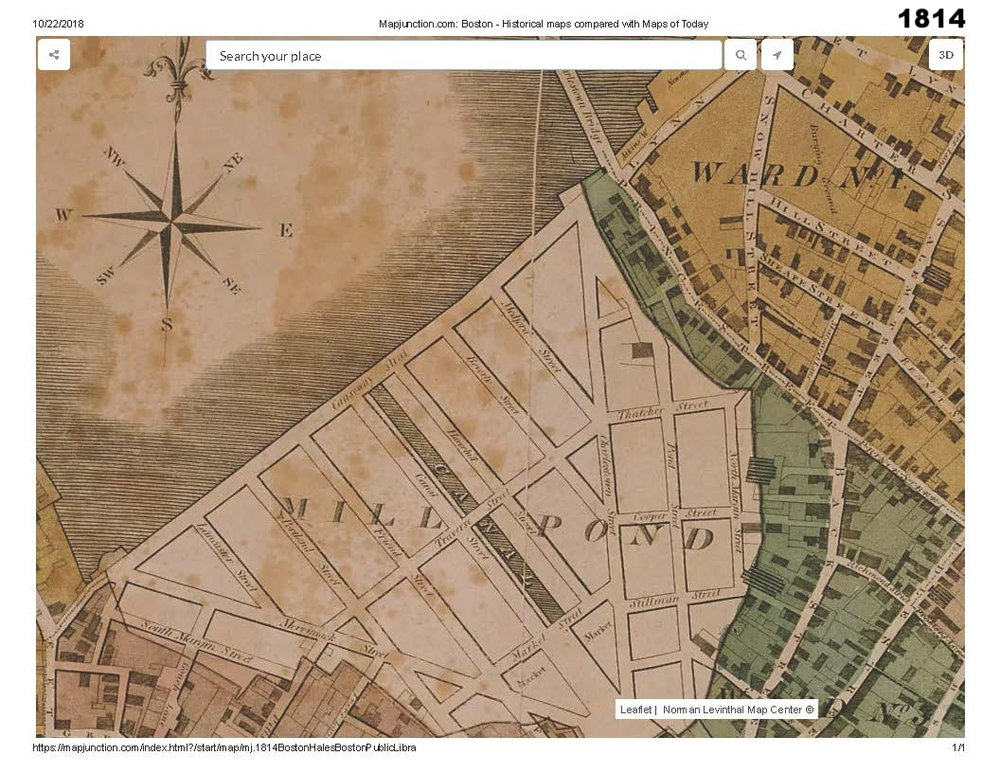 1814 historic map traces the development of cutillo park and morton street area